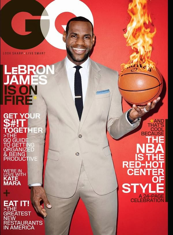 LEBRON JAMES for March 2014 GQ Cover Feature