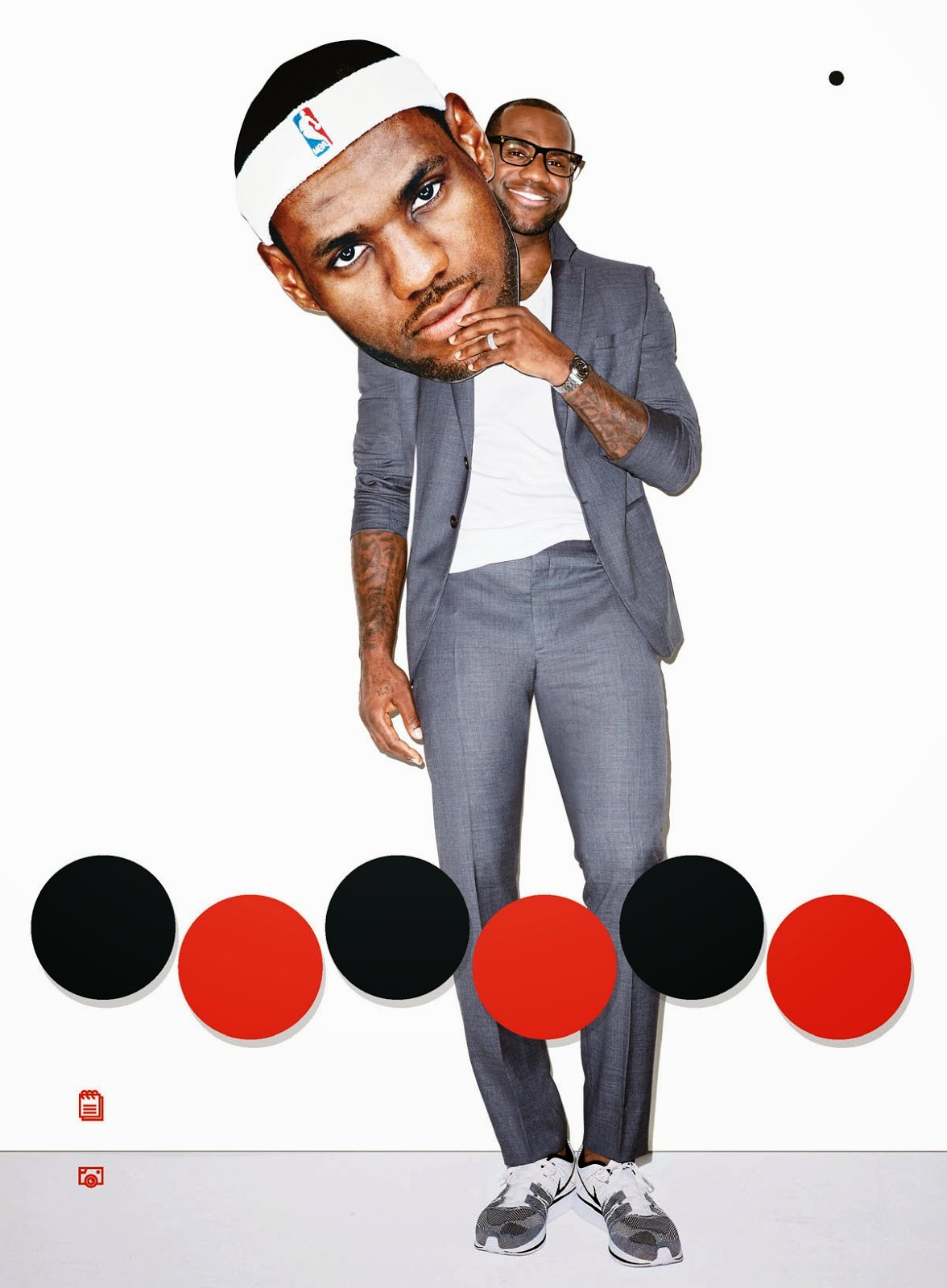 Lebron James Cover Editorial GQ USA March 2014 by Terry Richardson (3)