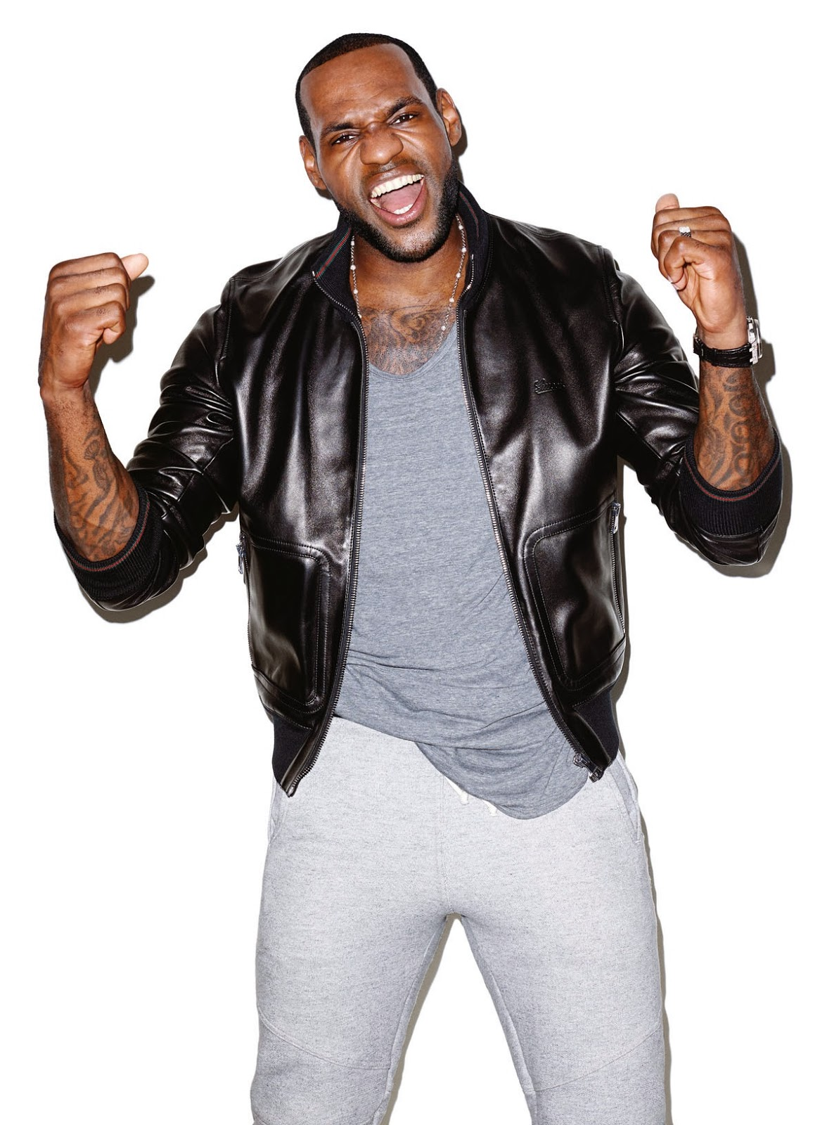 Lebron James Cover Editorial GQ USA March 2014 by Terry Richardson (4)
