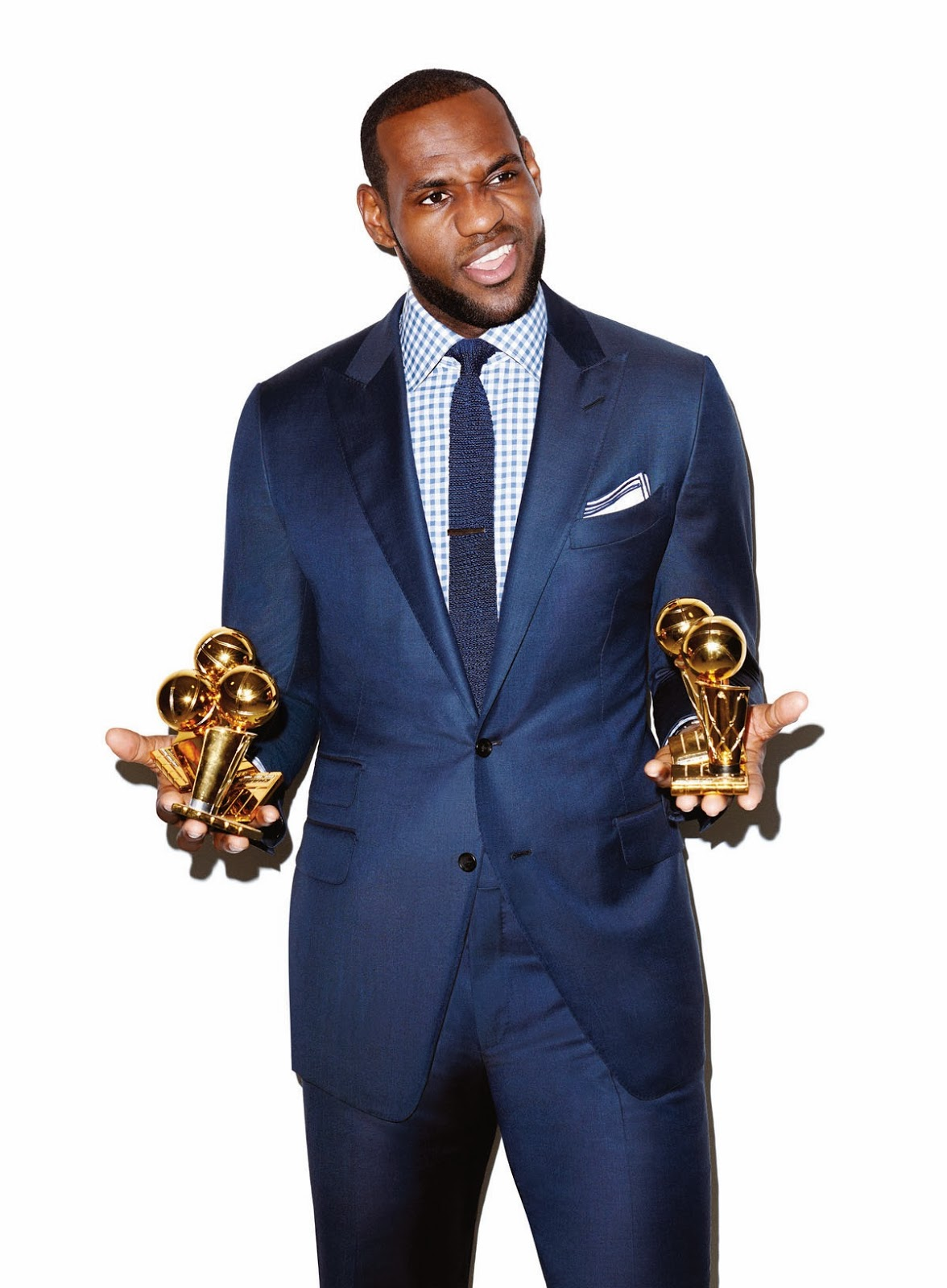 Lebron James Cover Editorial GQ USA March 2014 by Terry Richardson (5)