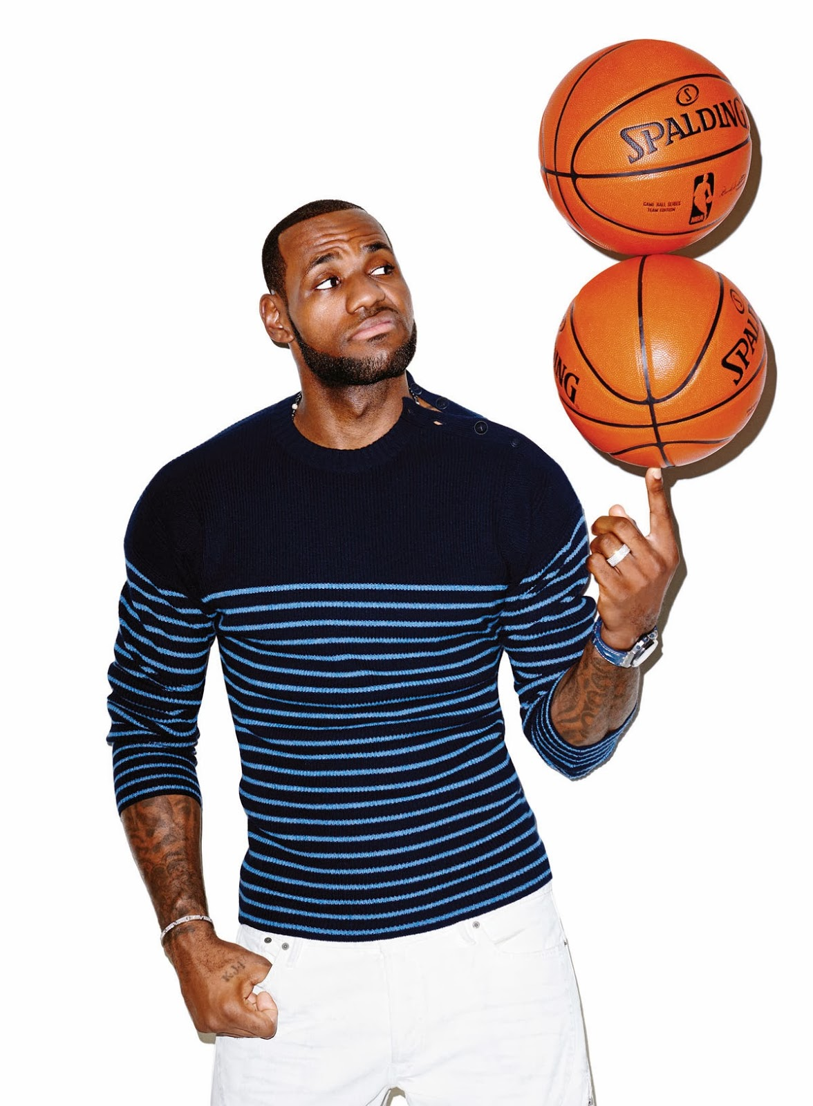 Lebron James Cover Editorial GQ USA March 2014 by Terry Richardson (6)