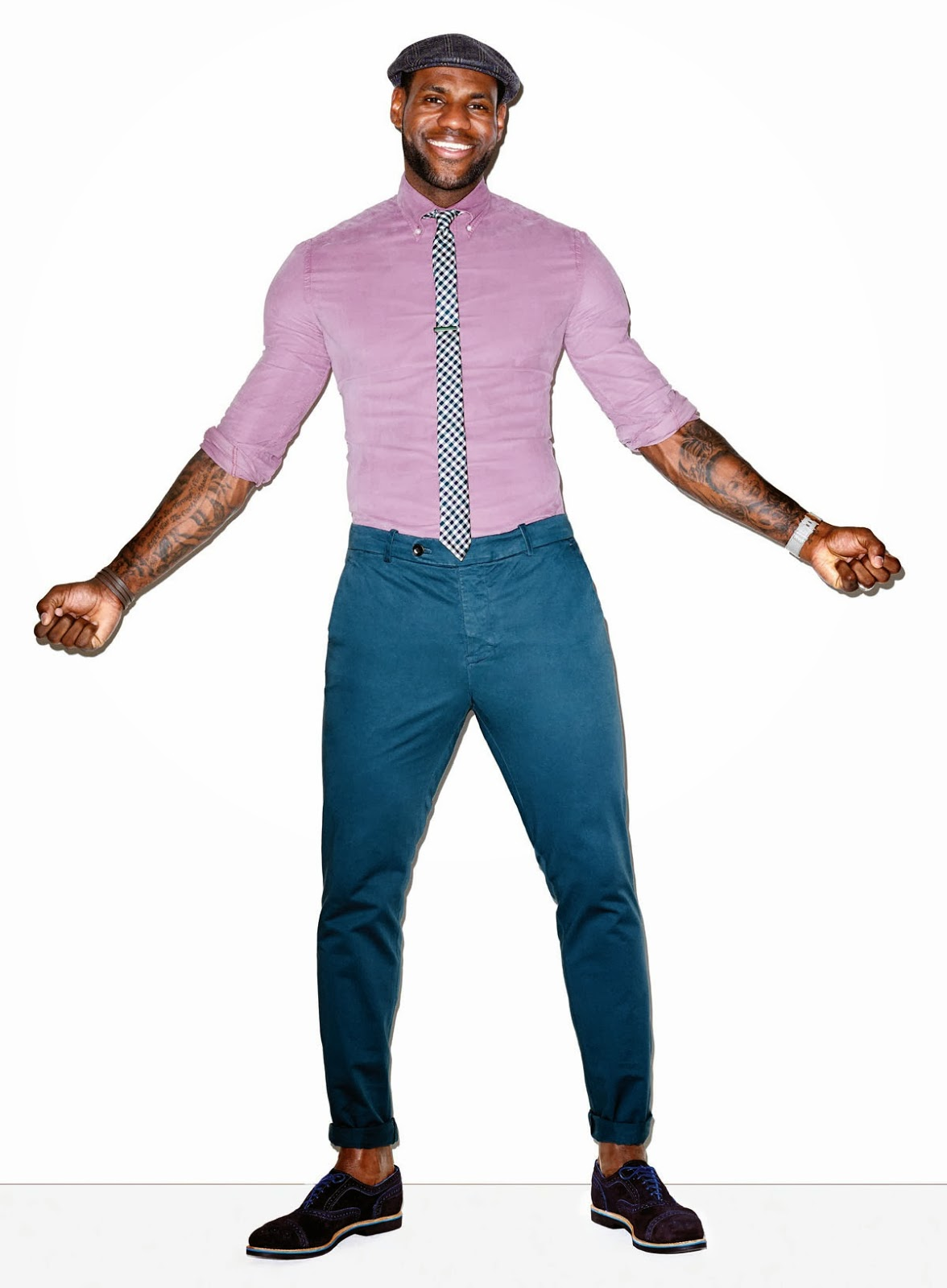 Lebron James Cover Editorial GQ USA March 2014 by Terry Richardson (7)