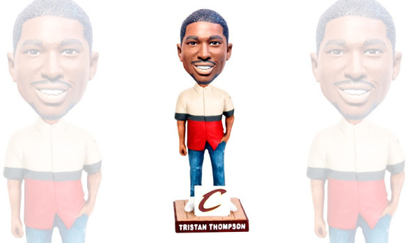 """Trendy"" Tristan Thompson Bobblehead Design"