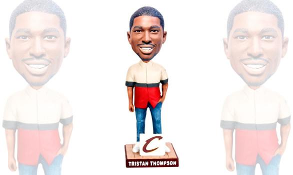 """Trendy"" Tristan Thompson Bobblehead Design"