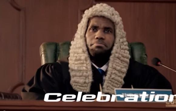 Judge Lebron James Powerade Commercial