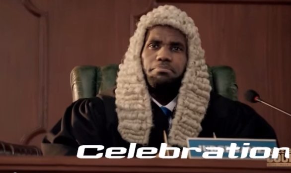 Judge Lebron James Powerade Commercial