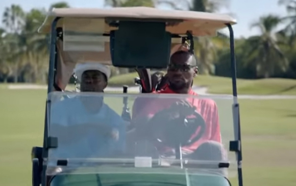 Lebron James, Kevin Hart–Samsung Golf Commercial