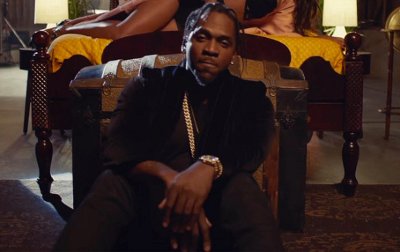 """Pusha T. """"M.P.A."""" Feat. Kanye West, A$AP Rocky & The-Dream"""
