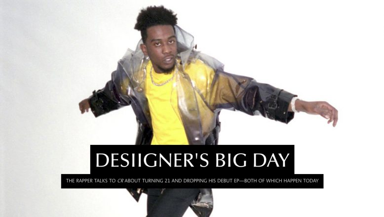 CR Fashion Book: DESIIGNER