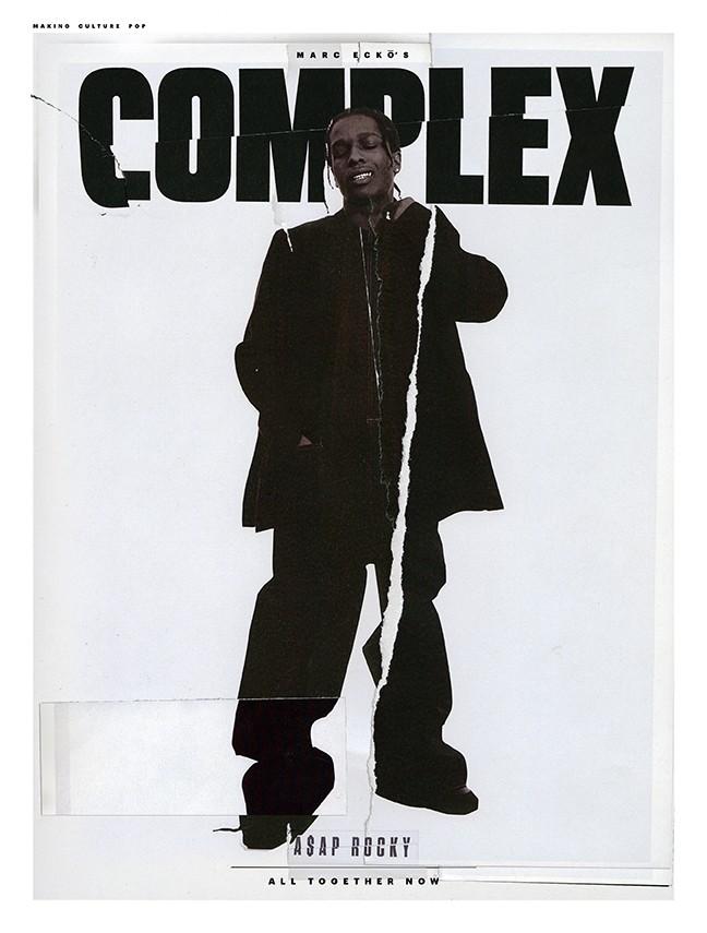 Complex Cover Shoot: A$AP ROCKY